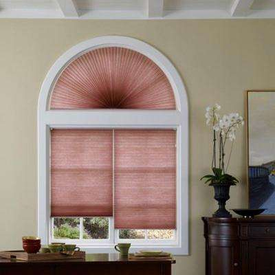 Light Filtering Arch Honeycomb Shade