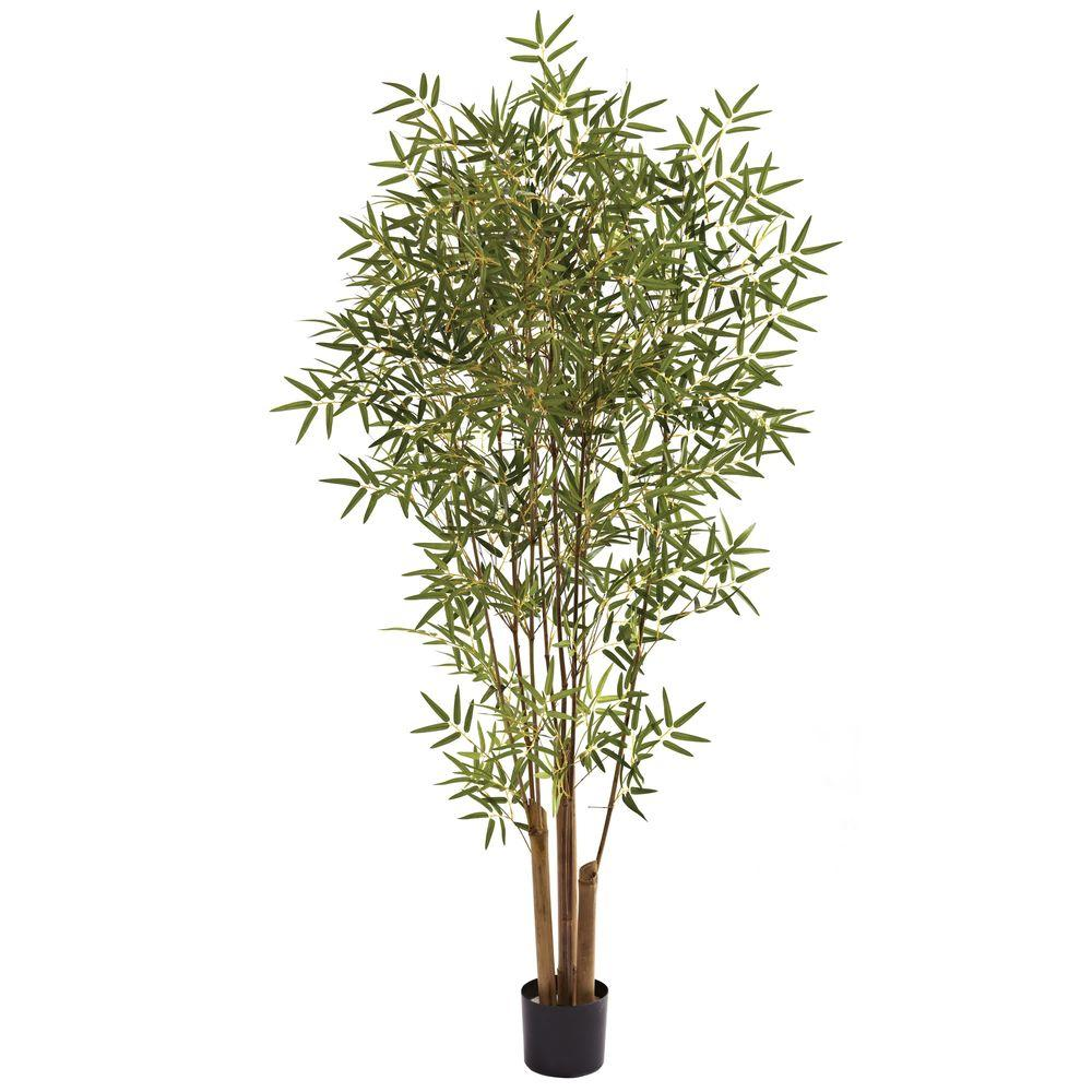nearly natural 6 ft japanese bamboo tree 5361 the home depot