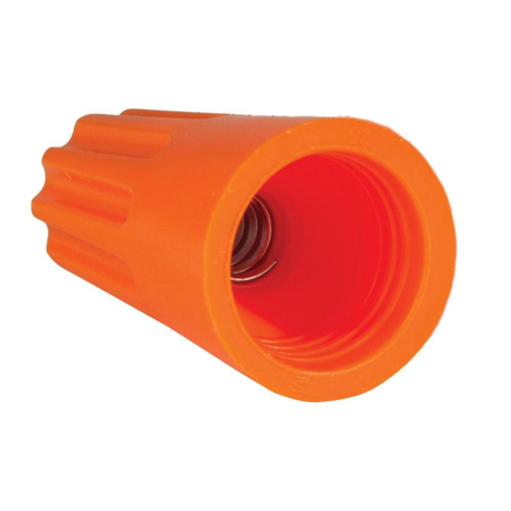 Contractor's Choice Orange Nut Wire Connector (500-Pack)
