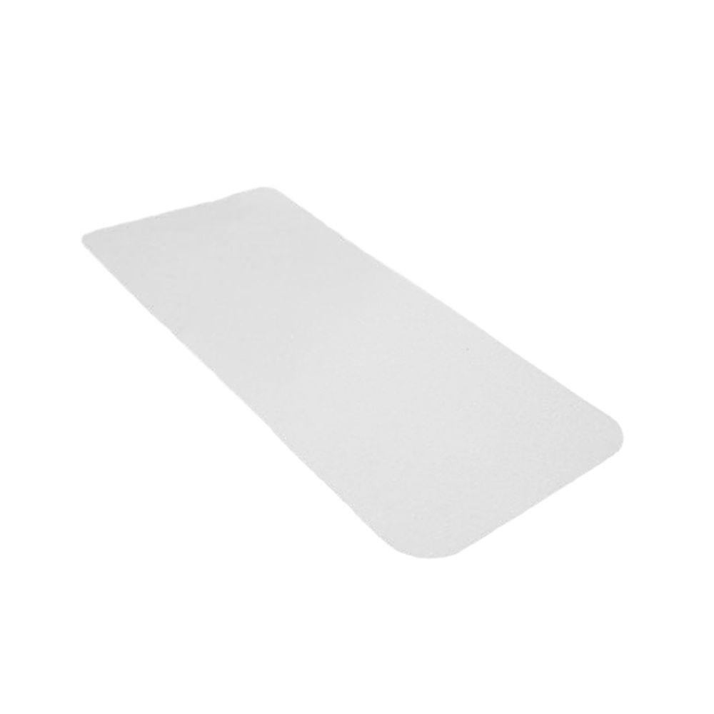 People Treads 6 In. X 12 In. Clear Vinyl Adhesive Tread (.
