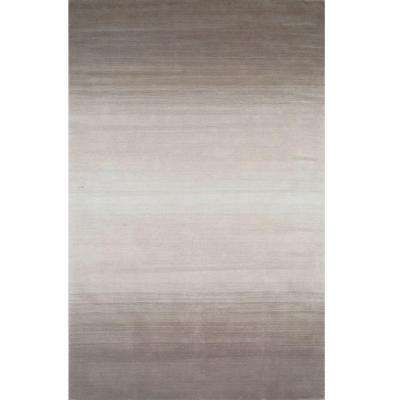 City Life Collection Taupe 5 ft. x 8 ft. Indoor Area Rug