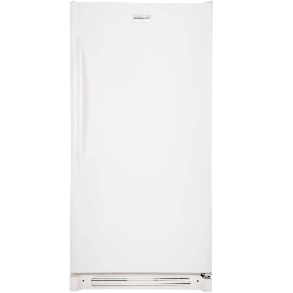 Frigidaire 17.0 cu. ft. Upright Freezer Convertible to Refrigerator in White