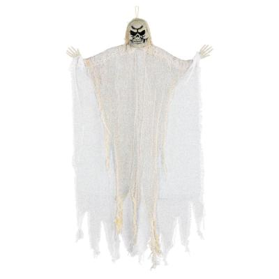24 in. White Halloween Hanging Reaper (6-Pack)