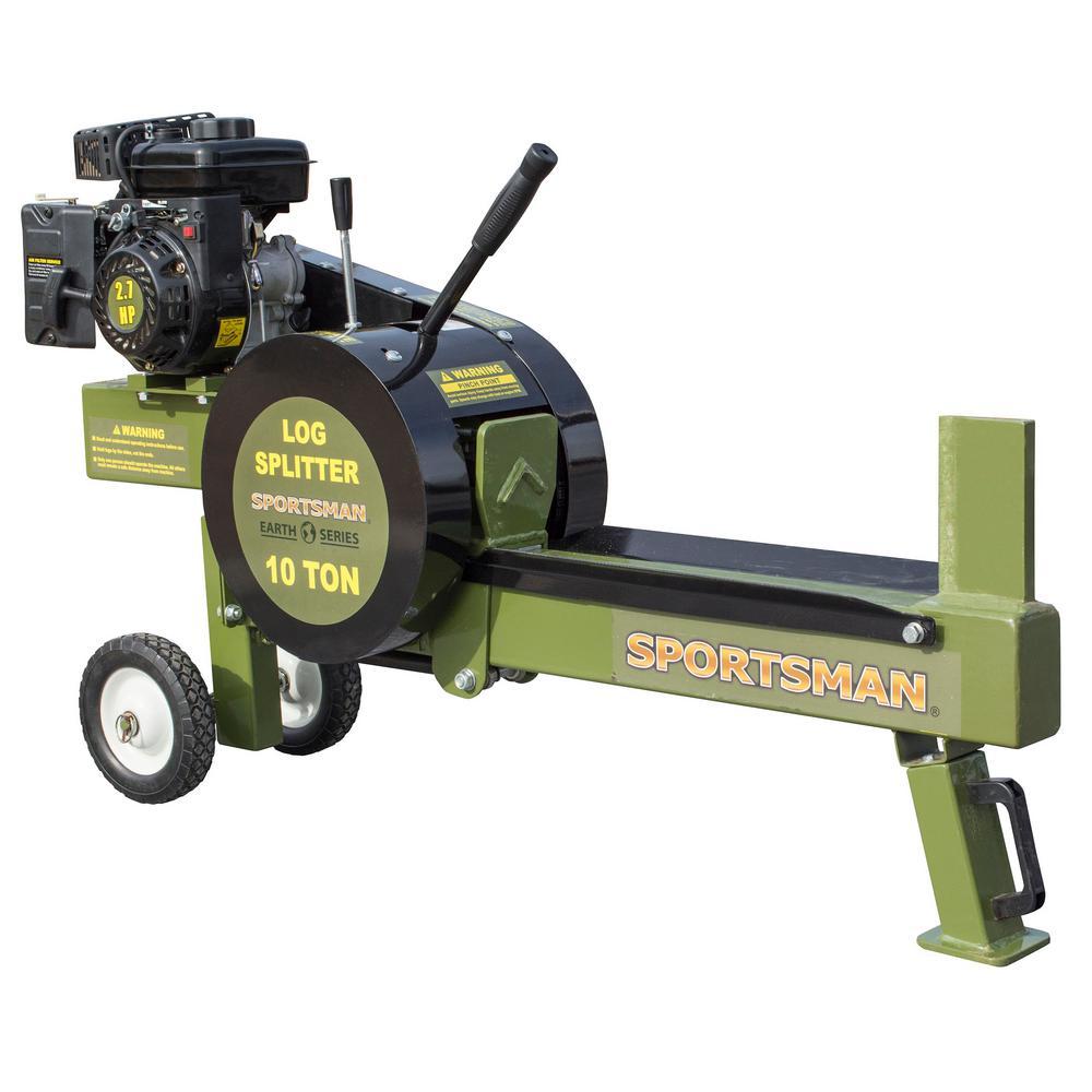 Sportsman Earth Series 10-Ton 94cc Gas Kinetic Log Splitter