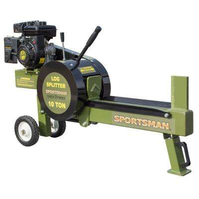 Earth Series 10-Ton 94cc Gas Kinetic Log Splitter