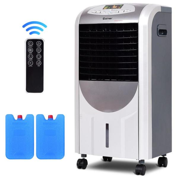 YUMUO Super Cold Wind Bladeless Fan,Hanging Cooling Fan and Air Purifier with Remote Control and Timing,Multifunction Folding Fan Black 30x30cm 12x12inch