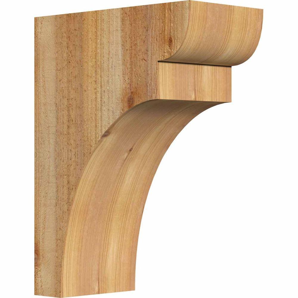 Ekena Millwork 6 In X 12 In X 16 In Western Red Cedar