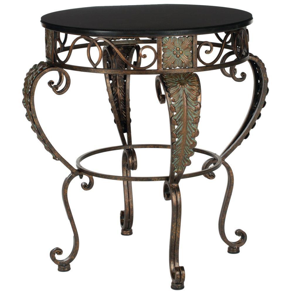 Karen Dark Brown Side Table
