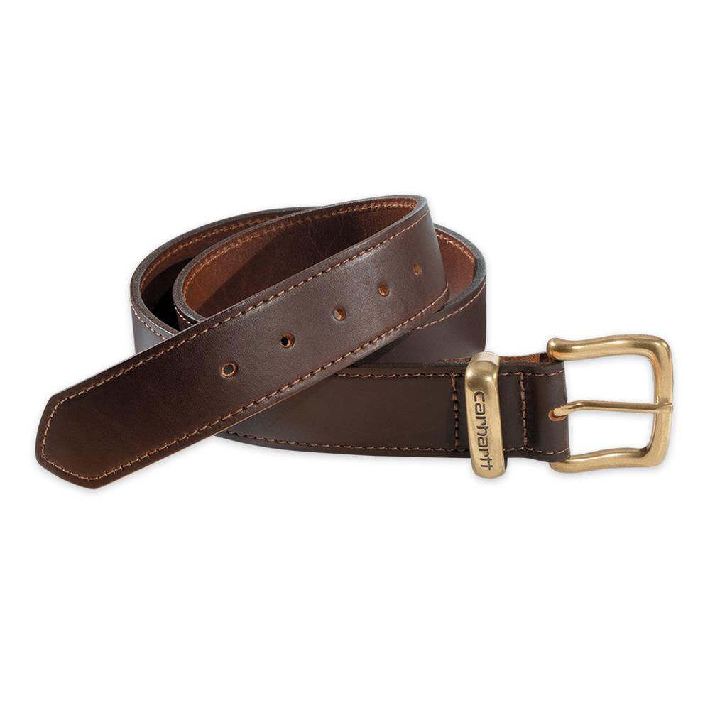 Men's Size 38 Brown Leather Jean Belt