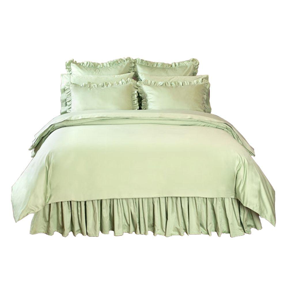 Home Decorators Collection Solid Cottage Hill Full/Queen Duvet