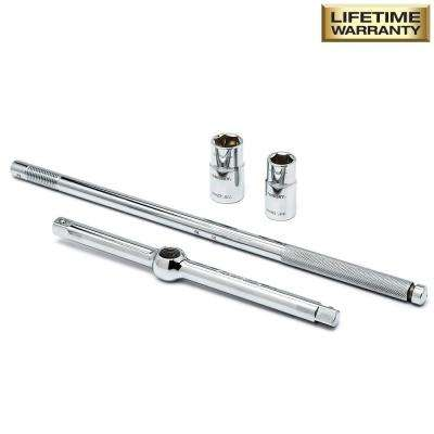 Universal Lug Nut Wrench Set (3-Piece)