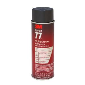 3M Super 77 16.75 fl. oz. Multi-Purpose Spray Adhesive (Case of 12) by 3M