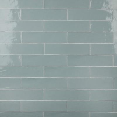 Chester Acqua 3 in. x 12 in. Ceramic Wall Subway Tile (5.93 sq. ft. / Case)