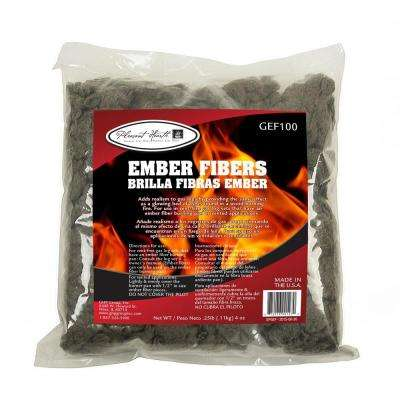 Glowing Ember Fiber Pellet 4 oz. Bag