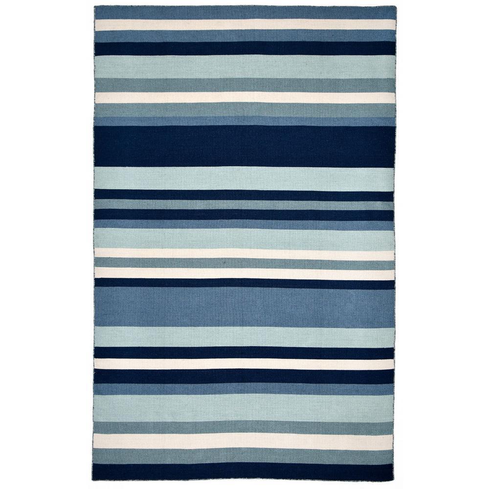 Tasso Bright Stripe Water 7 Ft. 6 In. X 9 Ft. 6 In