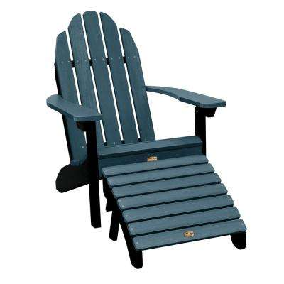 Essential Shale 2-Piece Recycled Plastic Outdoor Seating Set