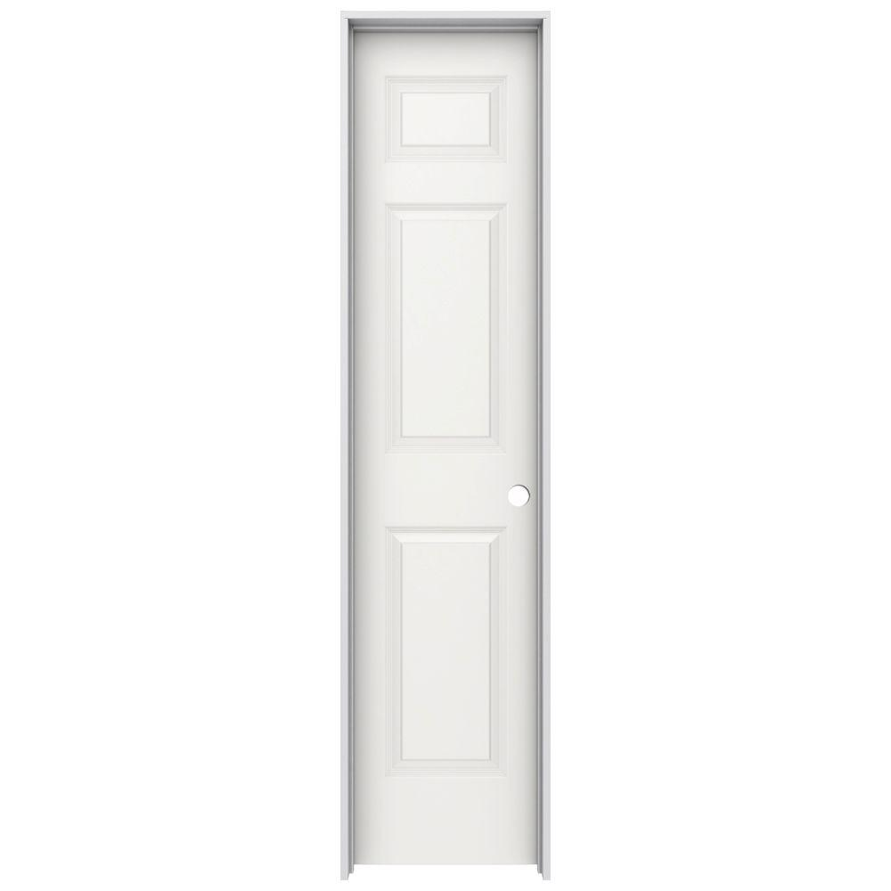 Jeld Wen 18 In X 80 In Colonist White Painted Left Hand Smooth Molded Composite Mdf Single