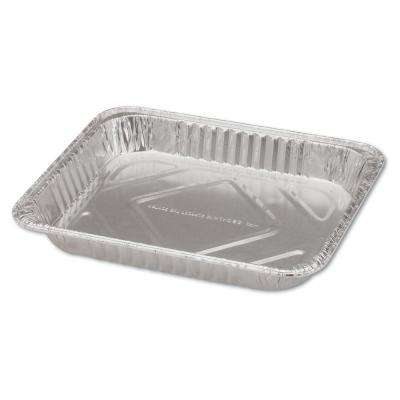 Steam Table Aluminum Pan, Half-Size, 1-1/2 in. Shallow (100 Per Case)