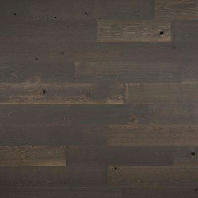1/8 in. x 5 in. x 12-42 in. Peel and Stick Dark Gray Wooden Decorative Wall Paneling (10 sq. ft./Box)