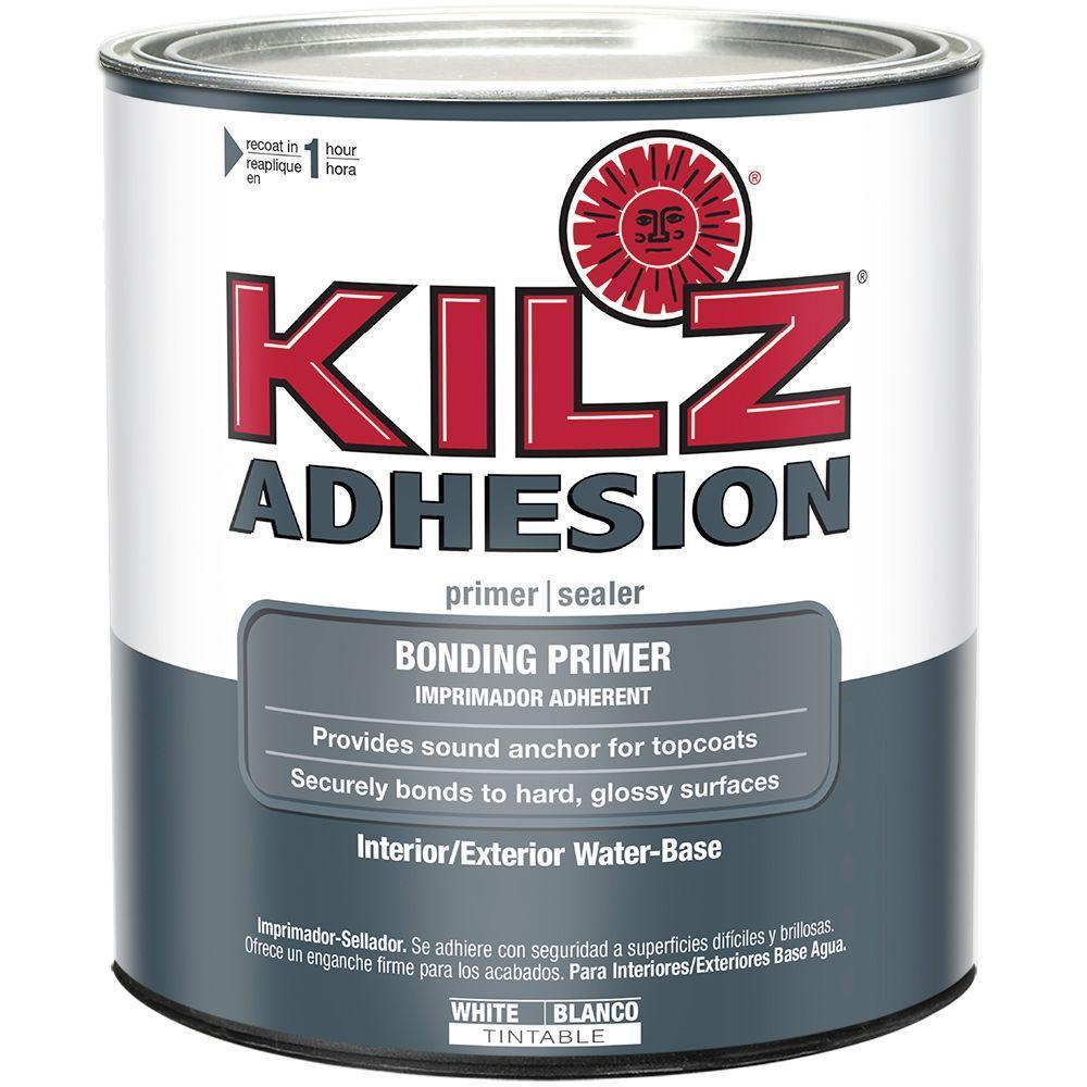 ADHESION 1 qt. White Adhesion Interior/Exterior Bonding Primer