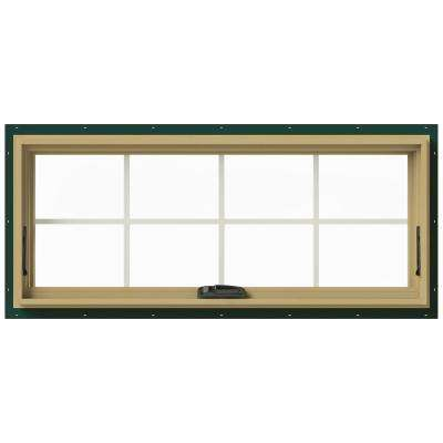 48 in. x 20 in. W-2500 Awning Aluminum Clad Wood Window