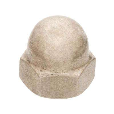 3/8 in. x 16 in. Zinc-Plated Cap Nut (2-Piece)