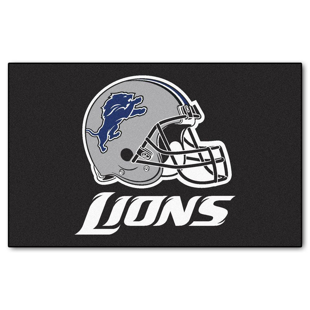 FANMATS Detroit Lions 5 ft. x 8 ft. Ulti-Mat
