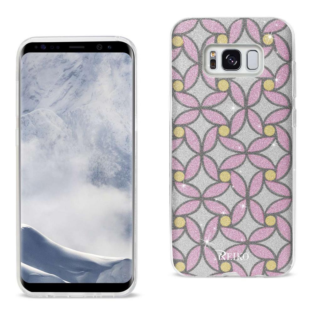 Galaxy S8 Edge Design Case in Pink