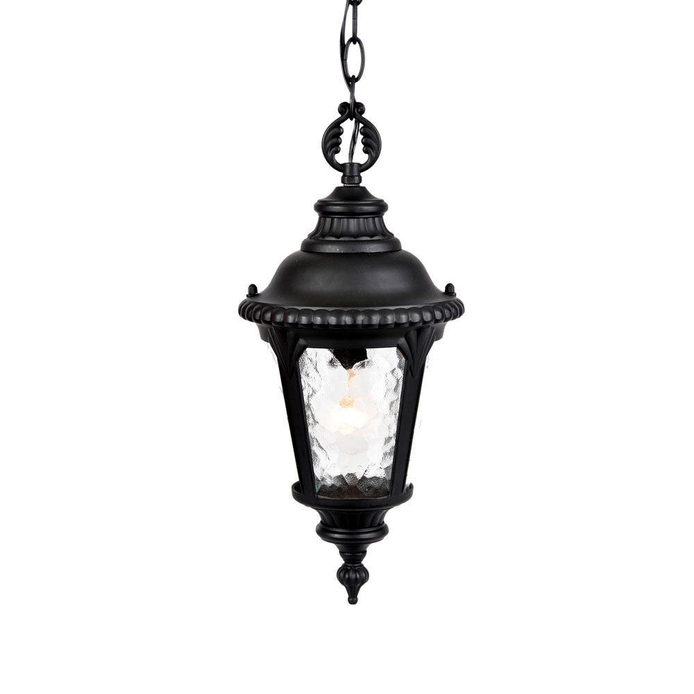 Acclaim Lighting Surrey Collection Hanging Outdoor Matte Black Light Fixture
