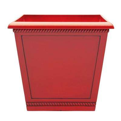 Red Glazed Large Plant Pots Planters The Home Depot