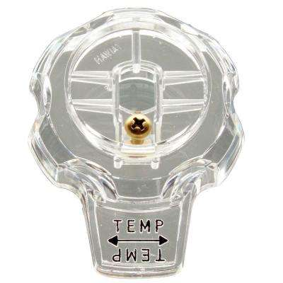 Clear Temperature Handle for Mixet Faucets