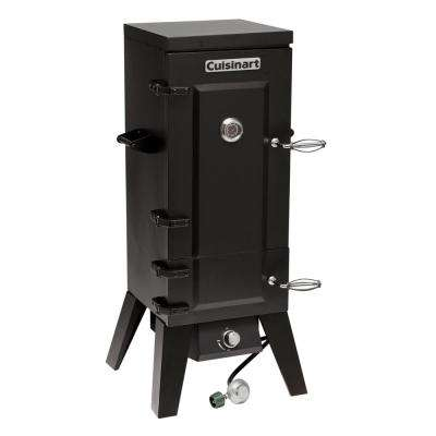 Vertical 36 in. Dia Propane Gas Smoker