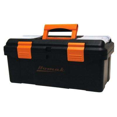 16 in. Tool Box, Black