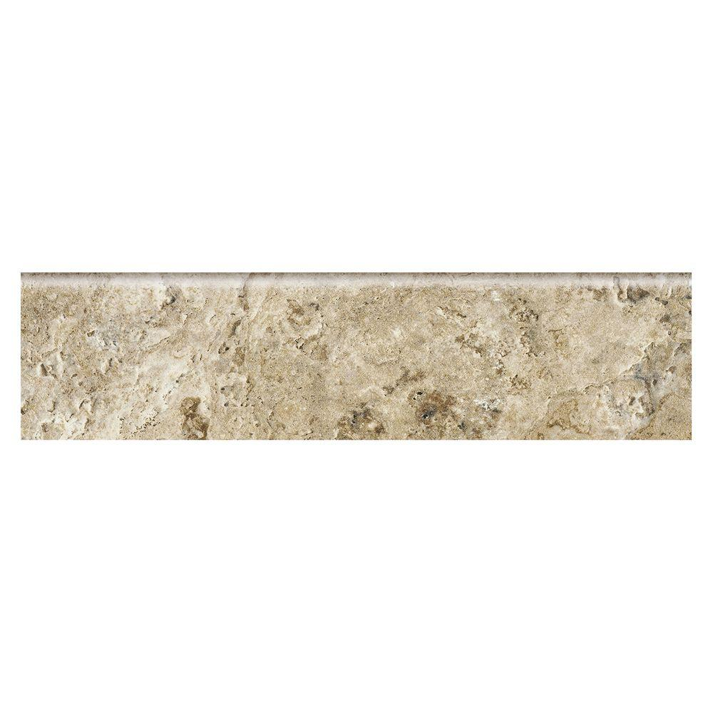 MARAZZI Travisano Bernini 3 in. x 12 in. Porcelain Bullnose Trim Floor and Wall Tile