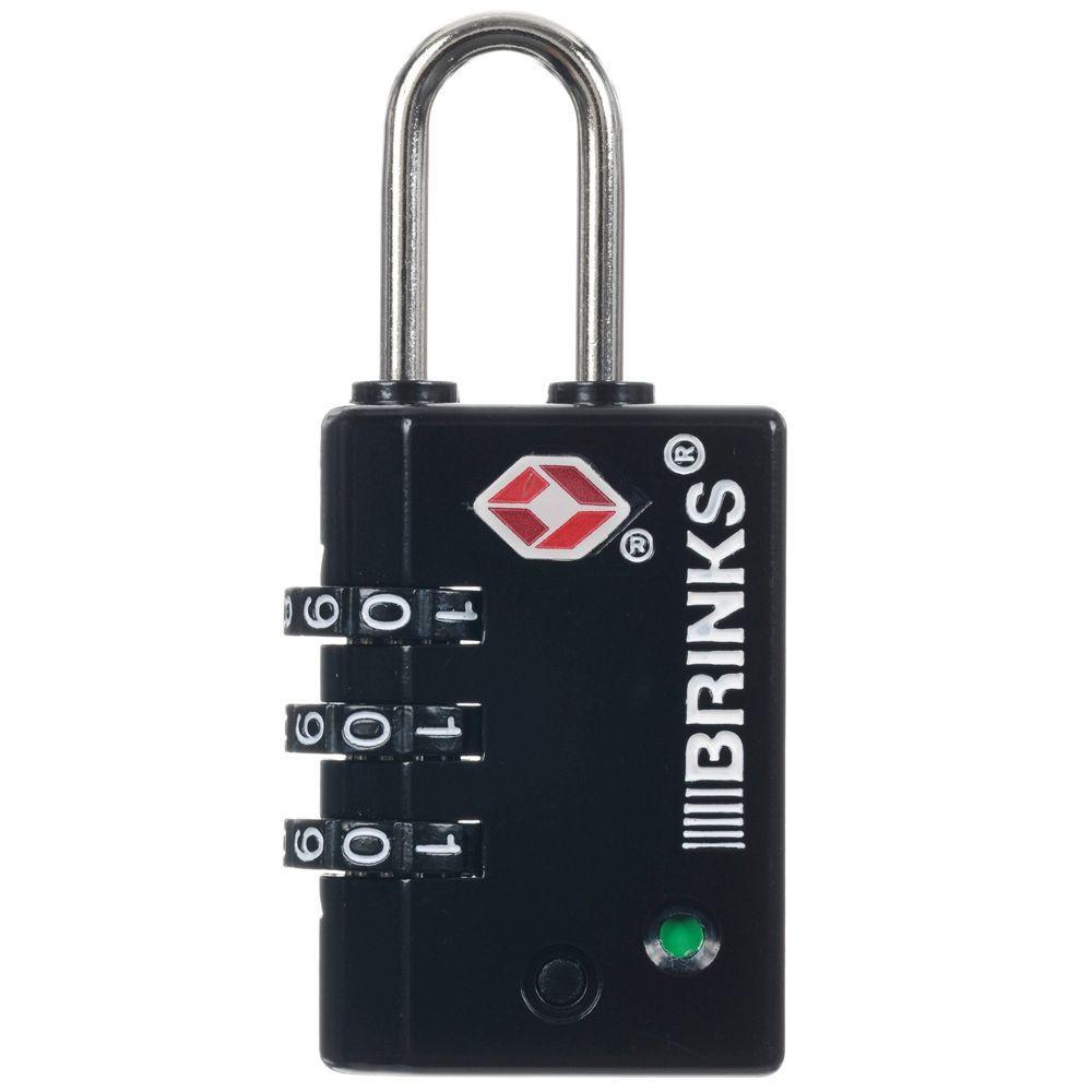 1 in. (25 mm) Zinc Resettable Combination Lock
