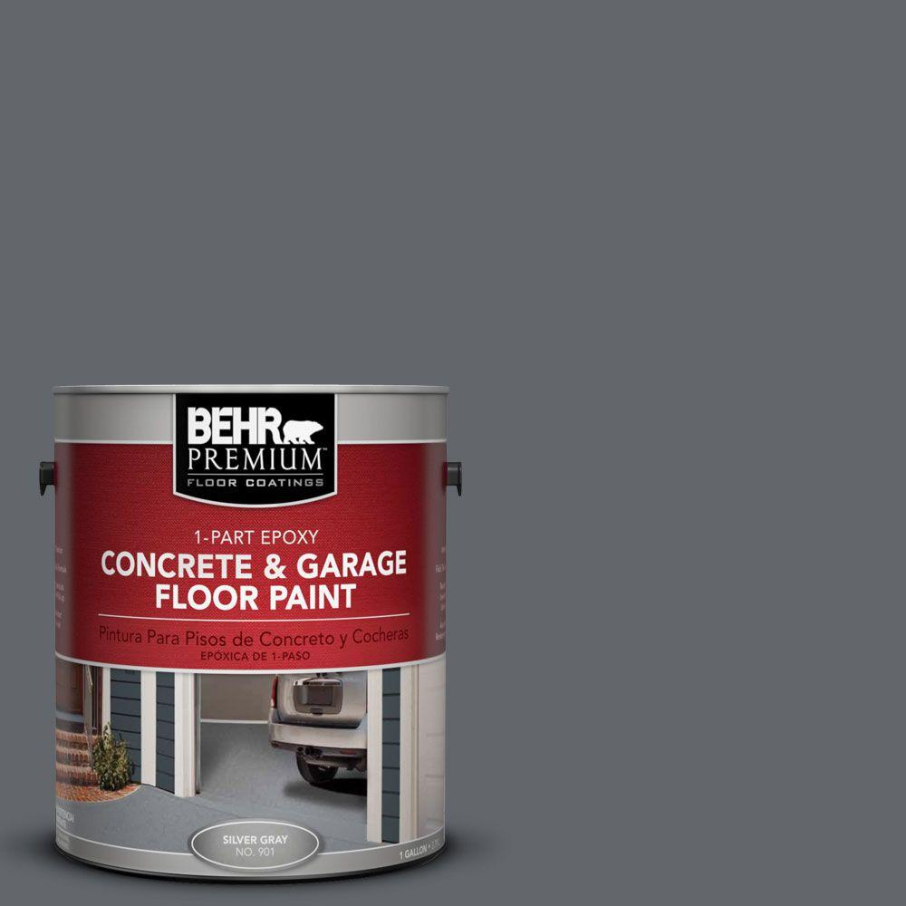 BEHR Premium 1-Gal. #PFC-65 Flat Top 1-Part Epoxy Concrete and Garage Floor Paint