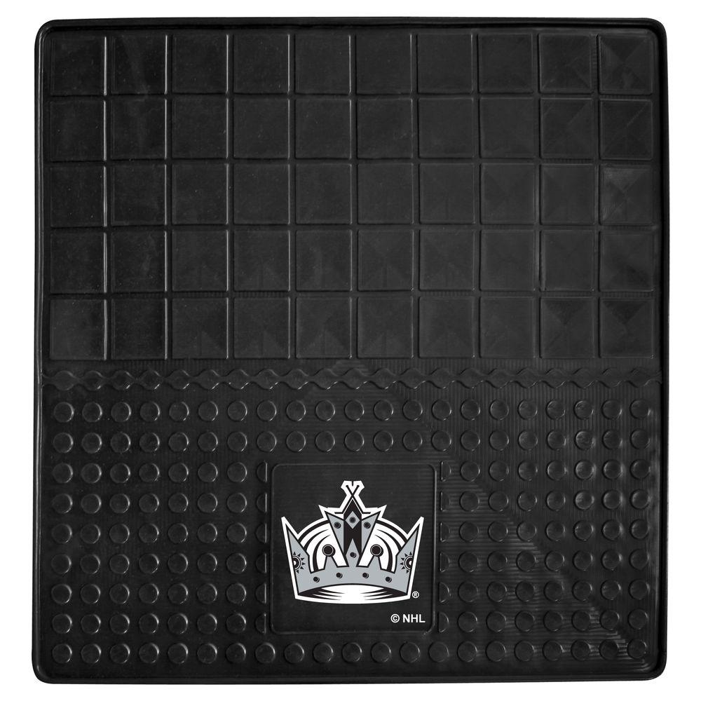 FANMATS Los Angeles Kings Heavy Duty Vinyl 31 in. x 31 in. Cargo Mat