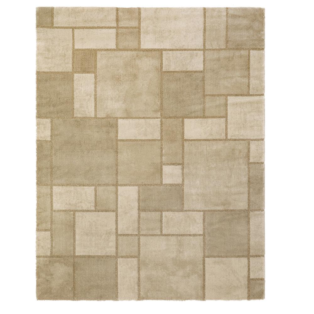 Home Decorators Collection Montage Beige 5 Ft X 7 Ft Area Rug