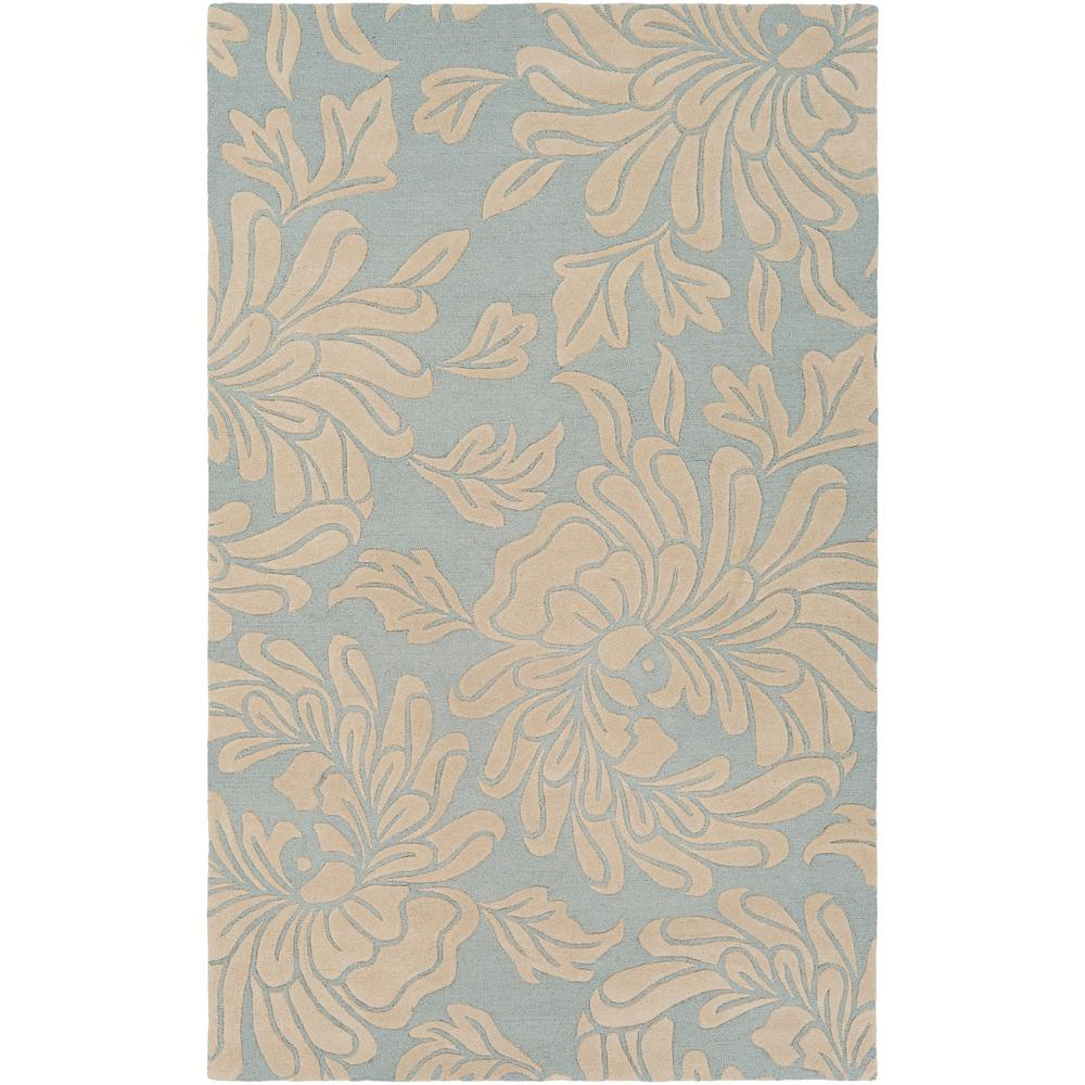 Andrea Silver Gray 4 ft. x 6 ft. Area Rug