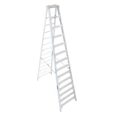 14 ft. Aluminum Step Ladder with 300 lb. Load Capacity Type IA