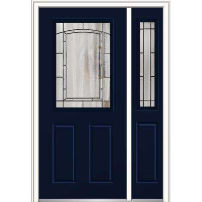 48 ...  sc 1 st  The Home Depot & Single door with Sidelites - Steel Doors - Front Doors - The Home ... pezcame.com