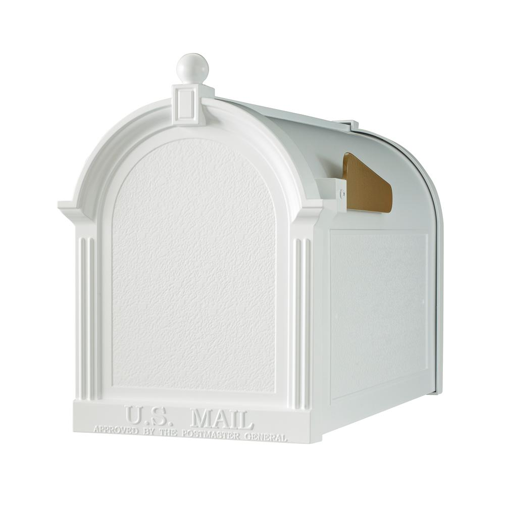 Whitehall Products Streetside Mailbox in White