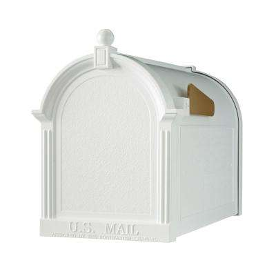 Streetside Mailbox in White