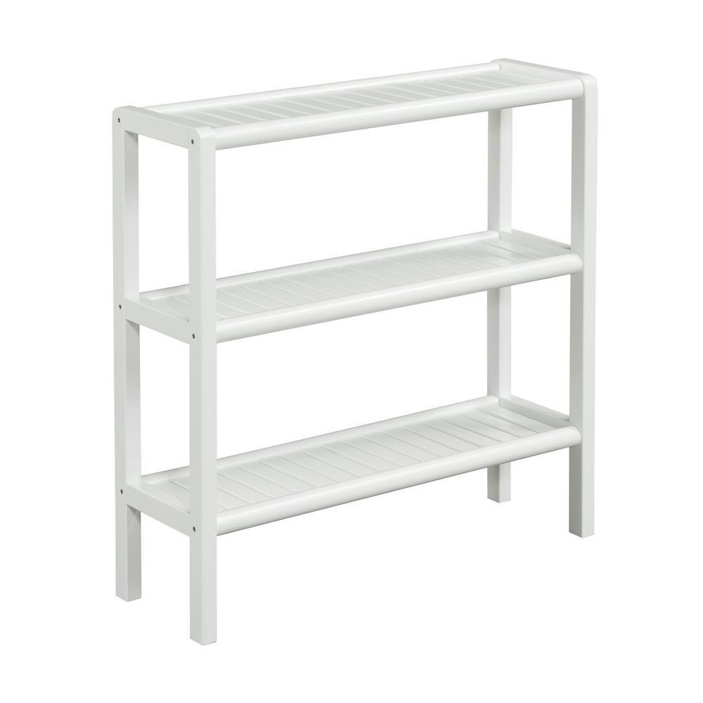 Abingdon White Bookcase