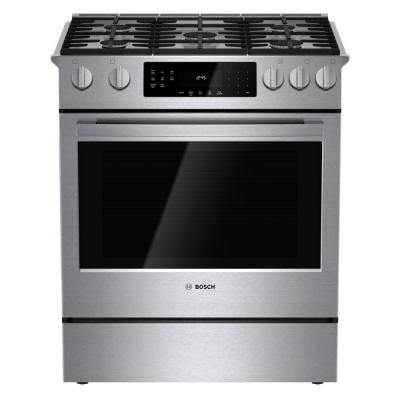 800 Series 30 In 4 8 Cu Ft Slide Gas Range With