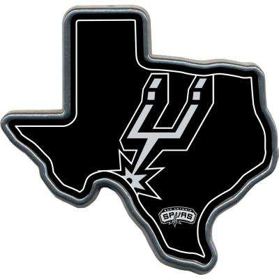 San Antonio Spurs Texas Shaped Hitch Cover