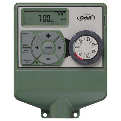 4-Station Easy-Dial Electrical Sprinkler Timer