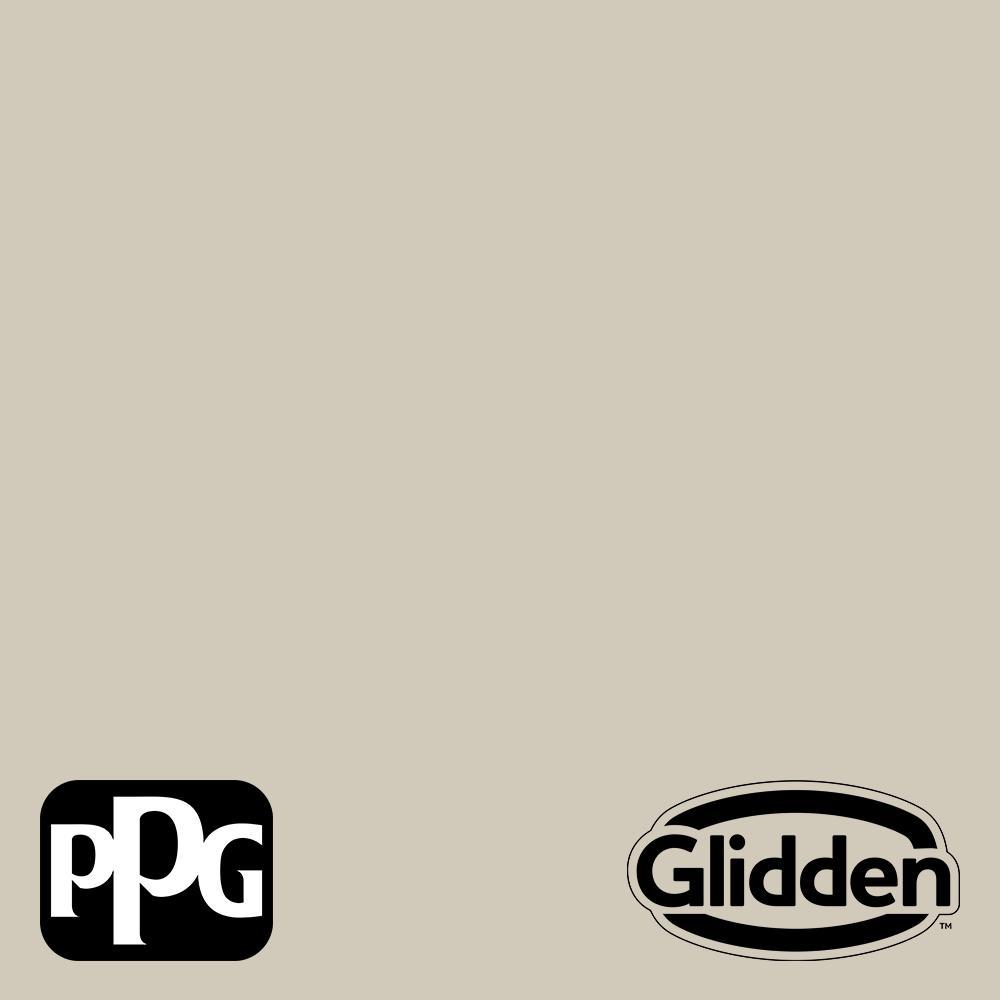 Glidden Premium 1 Gal Ppg1024 4 Moth Gray Flat Interior Latex Paint Ppg1024 4p 01f The Home Depot