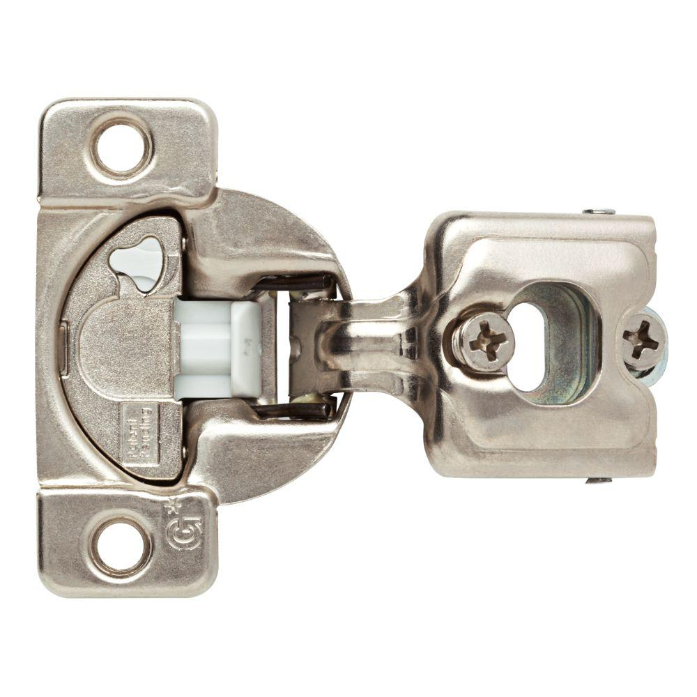 Everbilt 35 mm 110-Degree 3/4 in  Overlay Soft Close Cabinet Hinge (1-Pair)