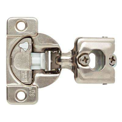 35 mm 110-Degree 3/4 in  Overlay Soft Close Cabinet Hinge (1-Pair)